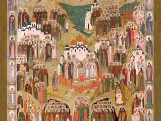 Богослужения в селе Бархатово в Неделю всех святых русской земли