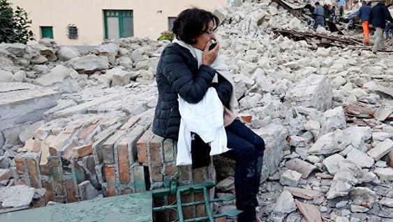 Землетрясение в Италии. Август 2016