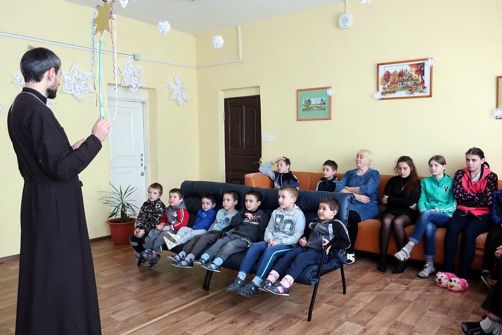 Рождество в Вознесенском детском доме