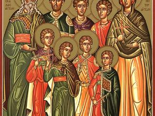 Воскресное богослужение в селе Бархатово в первый день Успенского поста