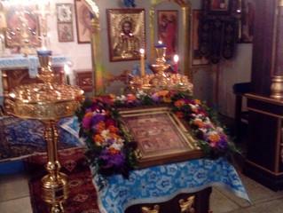 Праздничные богослужения в селе Бархатово в день Рождества Пресвятой Богородицы