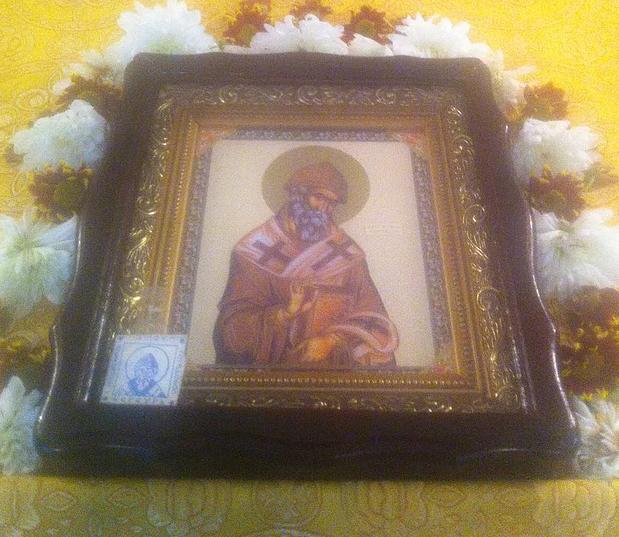 Образ святителя на аналое