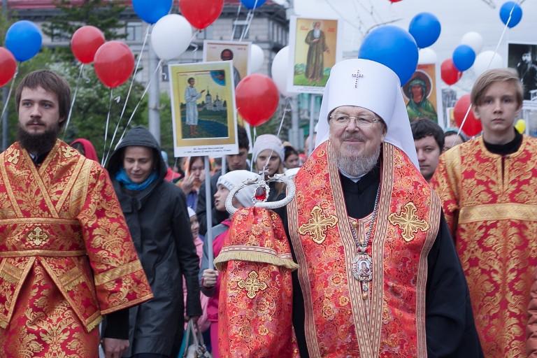 Второй в истории Красноярска детский крестный ход