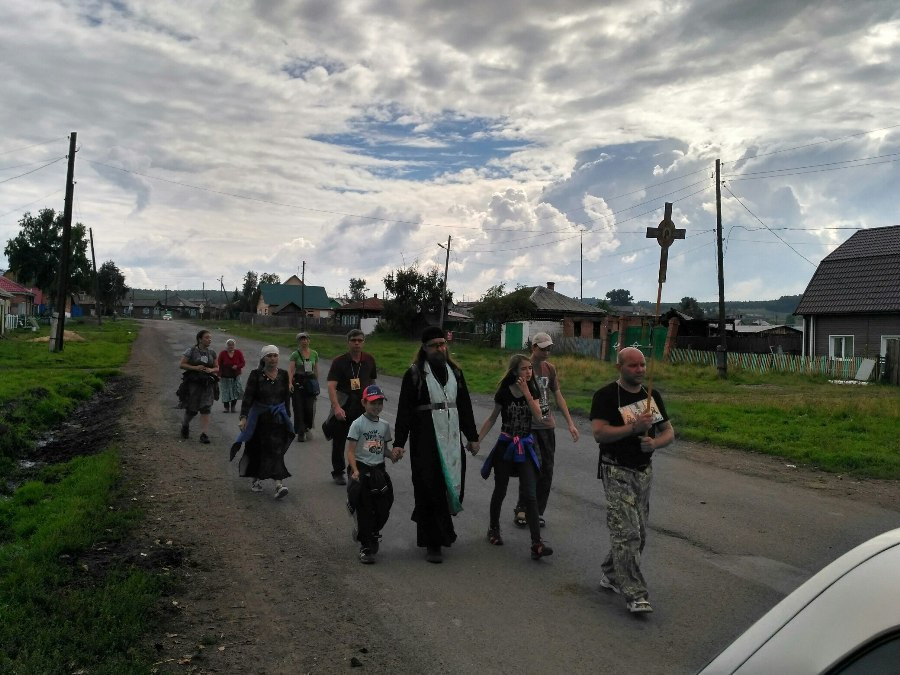 В деревне Вознесенка