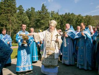 Престольный праздник Успенской мужской обители города Красноярска