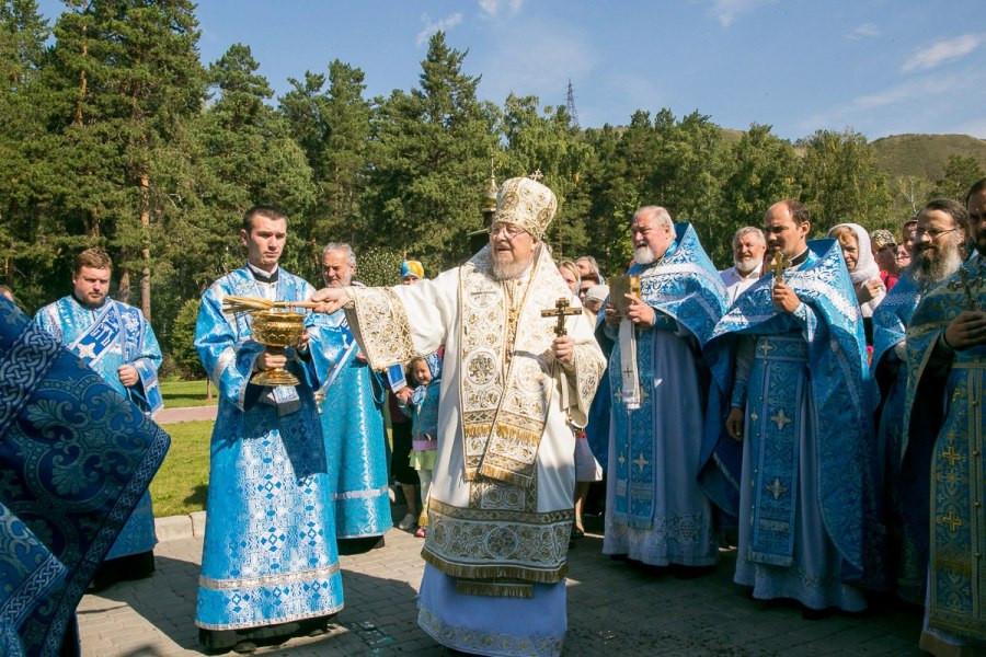 В Успенском мужском монастыре