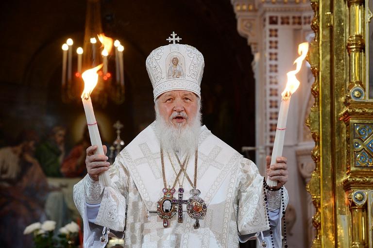 Патриарх Кирилл. Пасха 2016