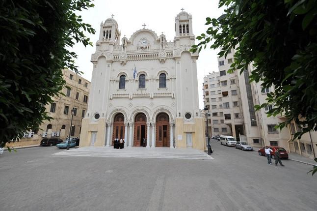 Патриарший кафедральный собор Благовещения в Александрии