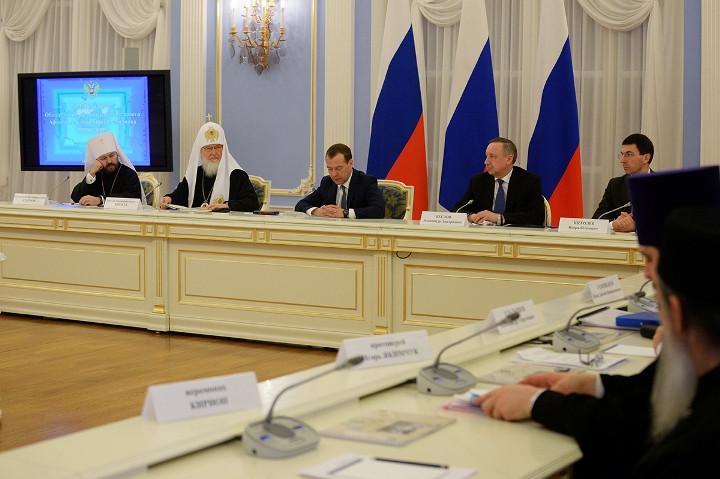Заседание Попечительского Совета Свято-Пантелеимонова монастыря