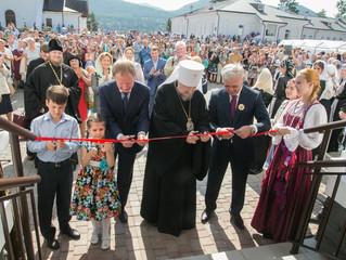 На территории Успенского монастыря открылся новый культурно-исторический центр