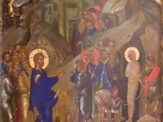 Богослужения Лазаревой Субботы в селе Бархатово