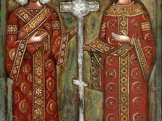 Божественной литургией православные бархатовцы отметили праздник Воздвижения Честного и Животворящег