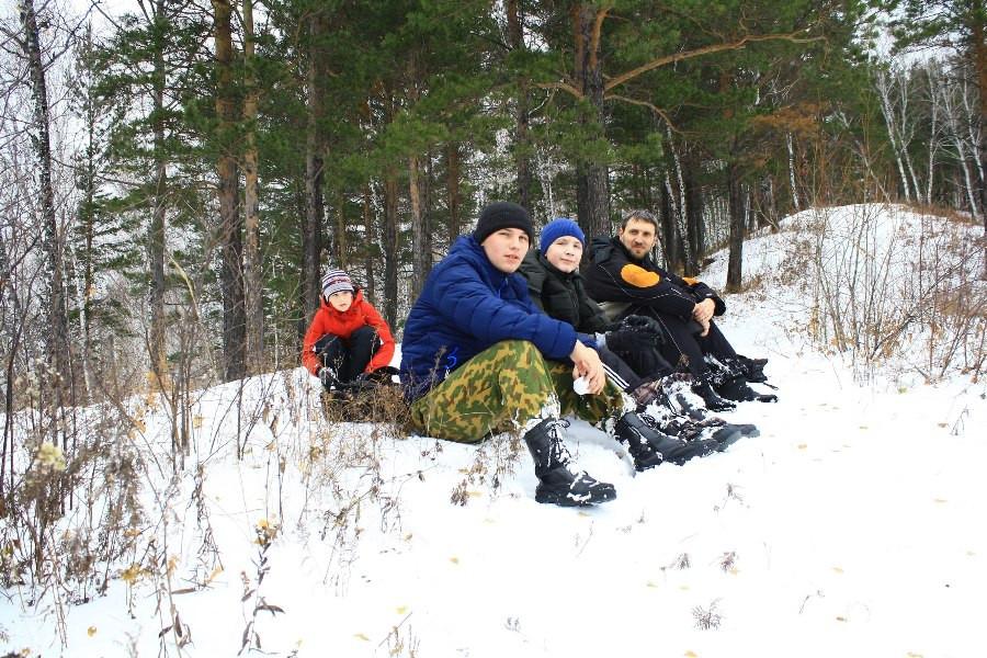 Участники восхождения