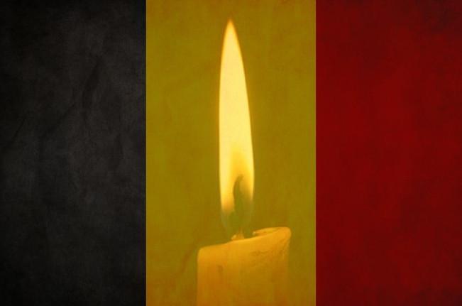 Траур в Бельгии