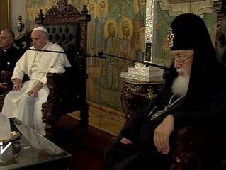 Папа Римский Франциск прибыл в Грузию с государственным визитом