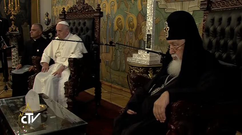 Визит Папы Франциска в Грузию