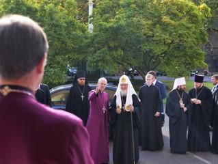 Святейший Патриарх Московский и всея Руси встретился с архиепископом Кентерберийским