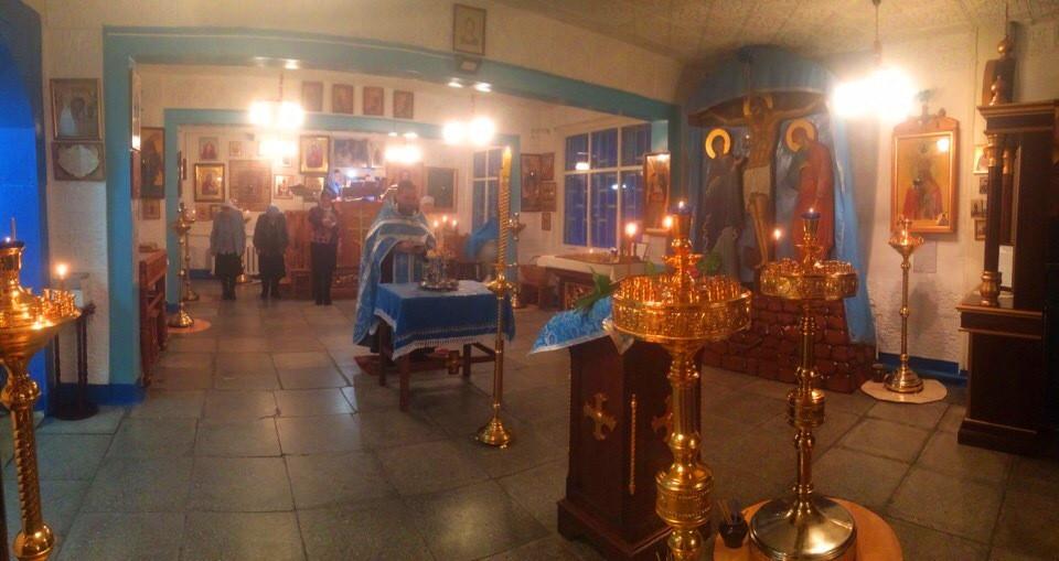 Всенощное бдение в Покровском храме