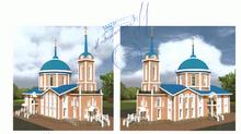 Митрополит Красноярский и Ачинский Пантелеимон одобрил обновлённый проект Покровского храма в селе Б