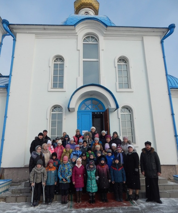 Введенский храм посёлка Берёзовка