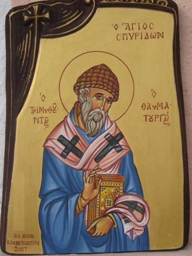 Святитель Спиридон. Икона