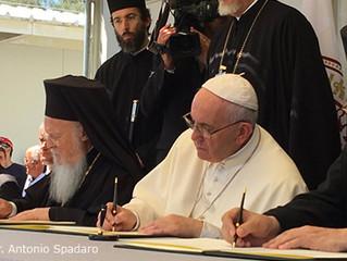 Совместное заявление Папы Франциска, Вселенского Патриарха Варфоломея и Архиепископа Афинского и все