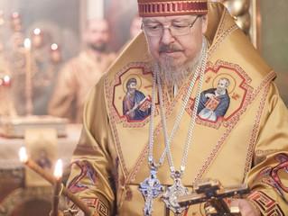 Митрополит Пантелеимон возглавил Литургию престольного праздника в Никольском храме Николаевской сло