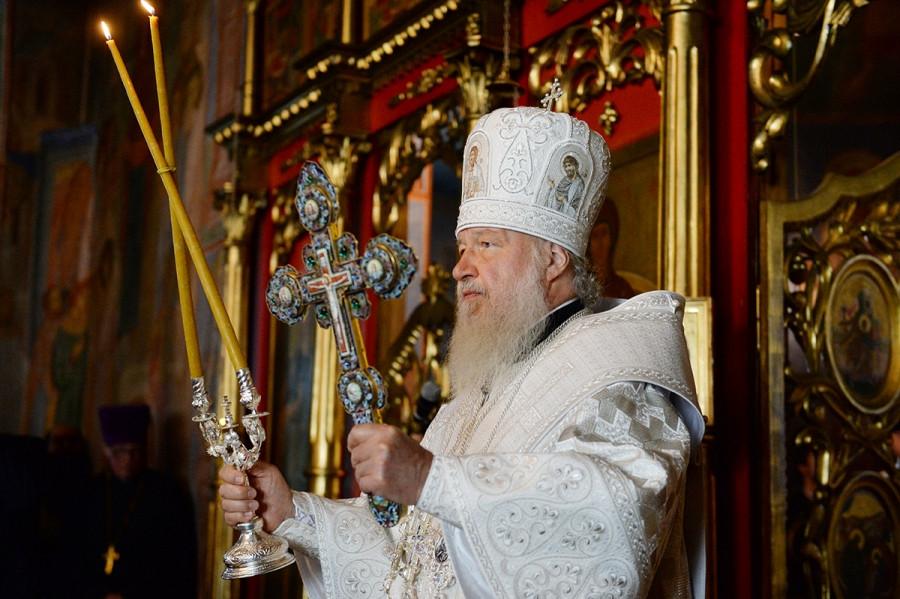 В Никольском соборе Мурманска