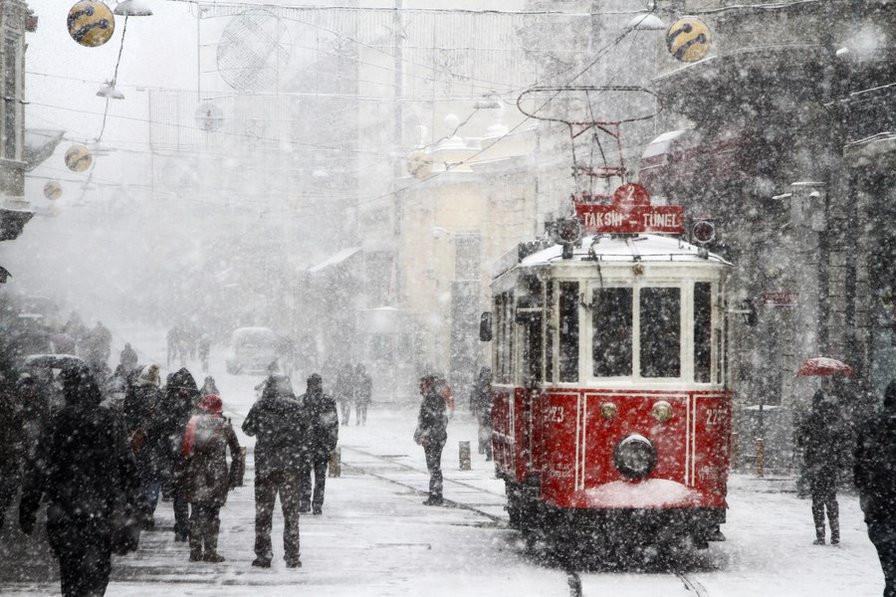 Константинополь зимой