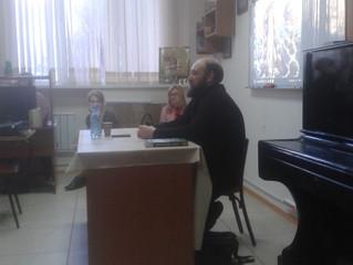 Личная миссия в современном мире: глава Миссионерского отдела Красноярской епархии выступил с лекцие