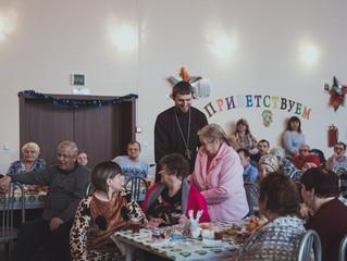 Рождественский праздник для подопечных Красноярского дома-интерната