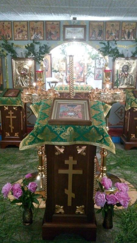 Пятидесятница в Покровском храме