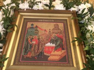 В селе Бархатово отметили праздник Сретения Господня