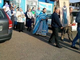 Покров Пресвятой Богородицы: торжества престольного праздника в селе Бархатово