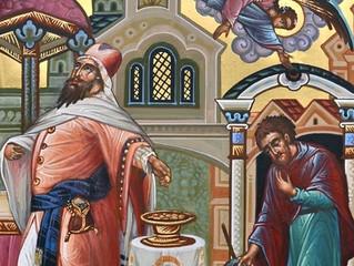 Богослужения в селе Бархатово в Неделю о мытаре и фарисее