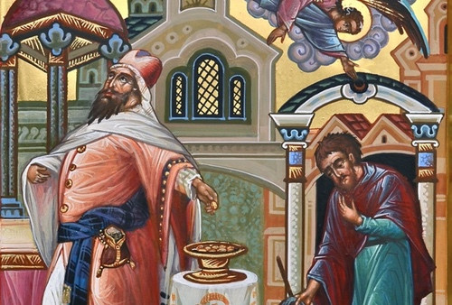 Неделя о мытаре и фарисее 2018