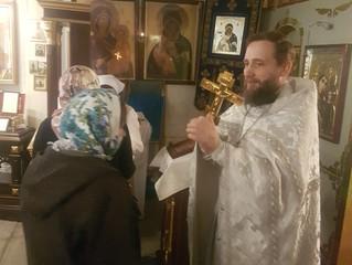 Бархатово: богослужения в праздник Рождества Христова