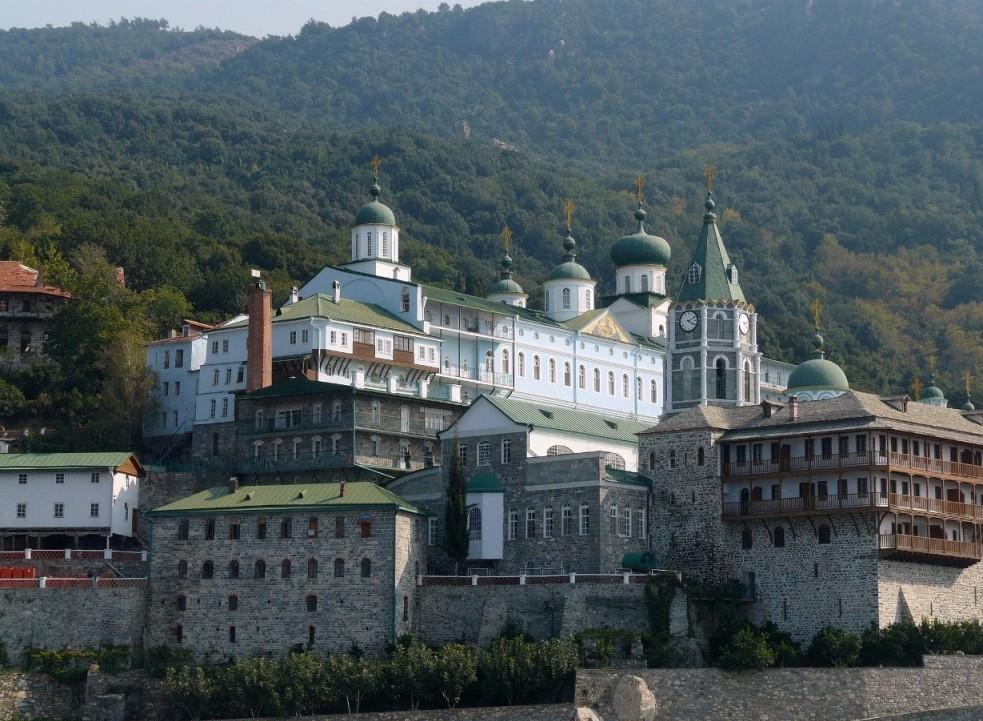Свято-Пантелеимонов русский монастырь на Афоне
