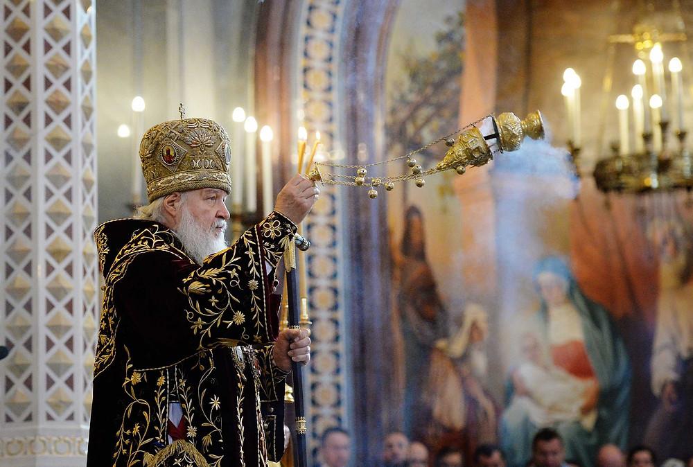 Патриарх Кирилл в девятую годовщину интронизации
