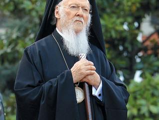 Патриарх Варфоломей направил Предстоятелю Русской Православной Церкви поздравительное послание по сл