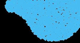 Teste padrão azul da onda