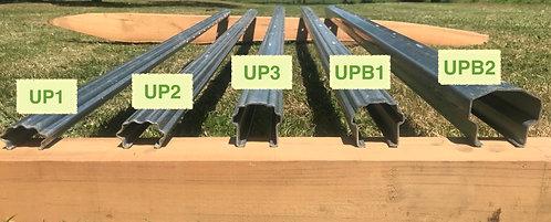 L'UP3 piquet en acier galvanisé en 2mm.