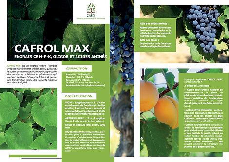 Cafrol Max 12 - 7 - 7 + oligos et acide aminés