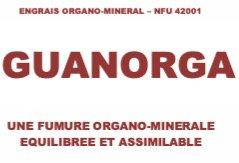 Engrais organique Guanorga 3/3/3 AB