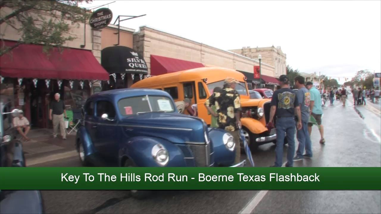 The Key To The Hills Rod Run - Flashback Video