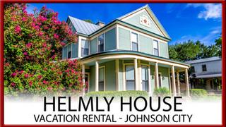 The Helmly House / Johnson City, Texas