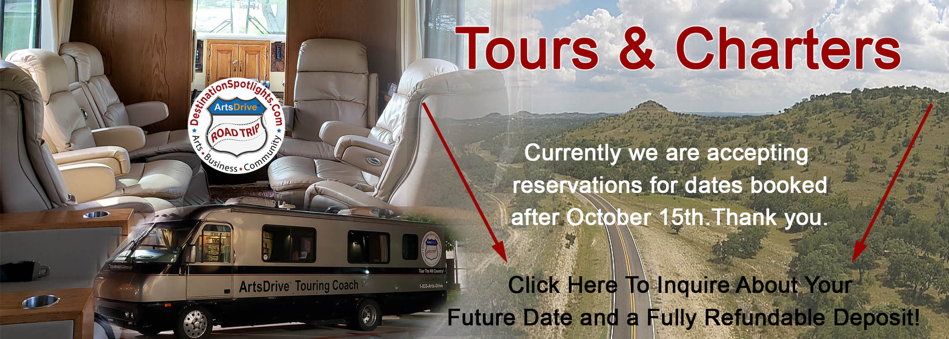 ArtsDrive Touring Coach