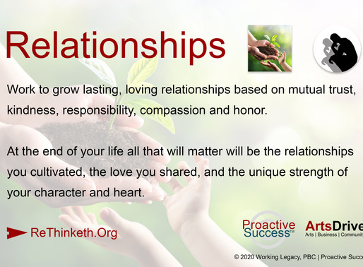 Relationships - All That Really Matters