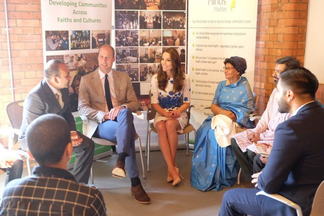 Royals Talk Mental Health in Luton