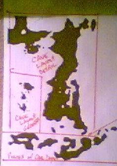 Drakes treasure map Hondius cavern Greenbrae larkspur Plate of Brass